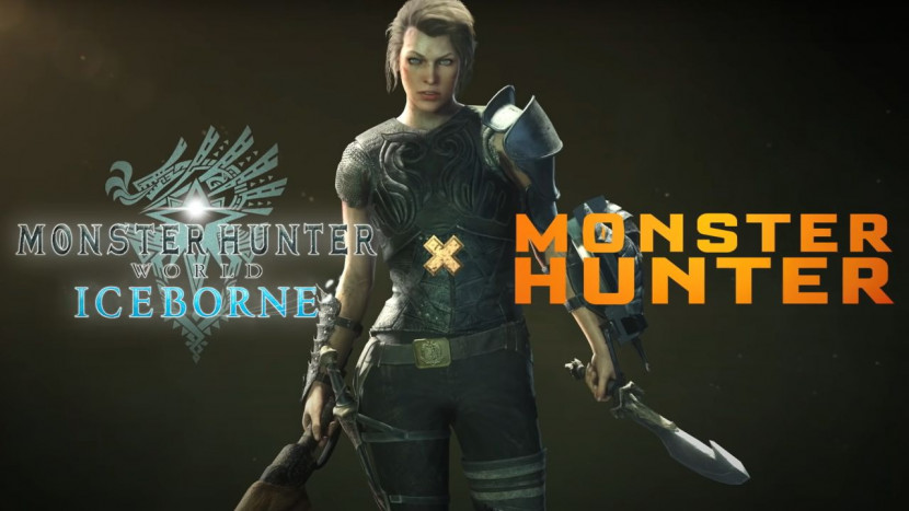 Actrice Milla Jovovich op weg naar Monster Hunter World
