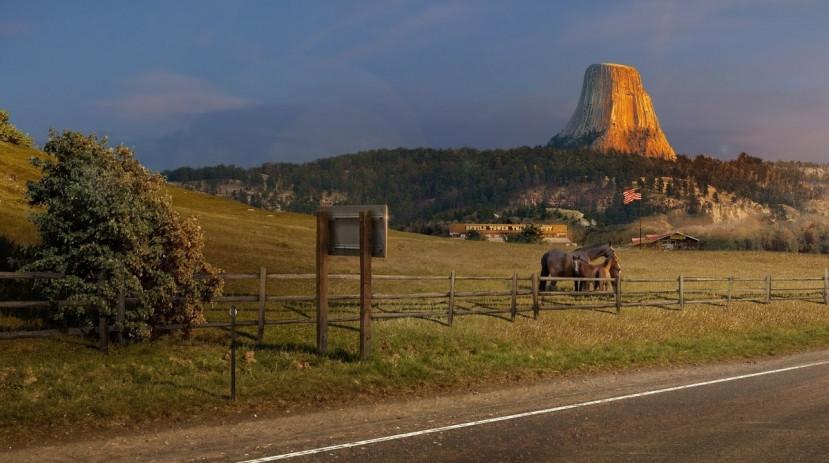 American Truck Simulator reist door naar Wyoming