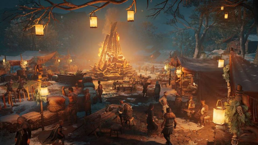 Assassin's Creed Valhalla begint met gratis content aan Yule Season