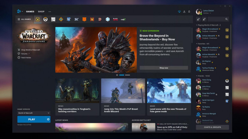 Battle.net krijgt een facelift