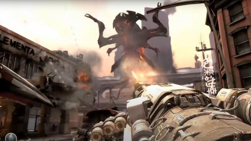 Beelden opgedoken van geannuleerde Doom 4