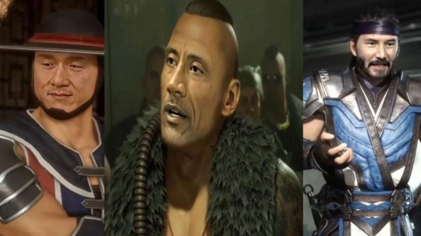 Celebs in Mortal Kombat 11 dankzij deepfakes