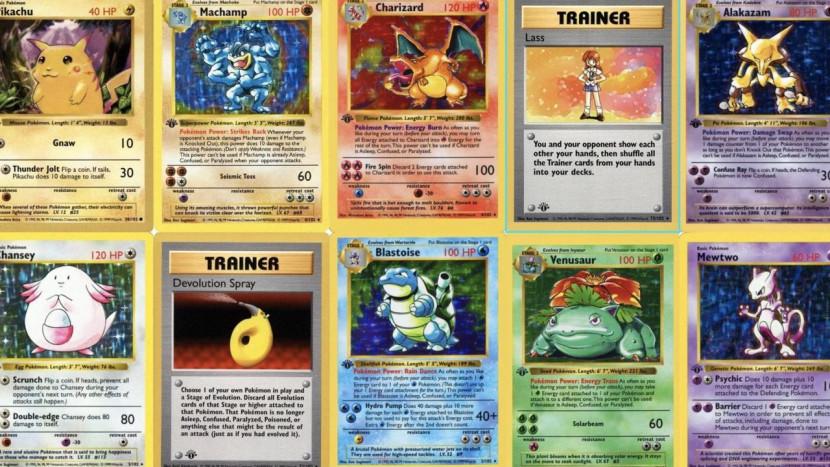Complete 1st Edition set Pokémon kaarten uit 1999 verkocht voor 666.000 dollar
