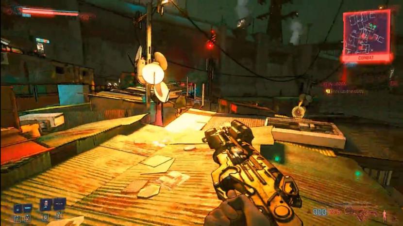 Cyberpunk 2077 met cel-shading wordt Borderlands game