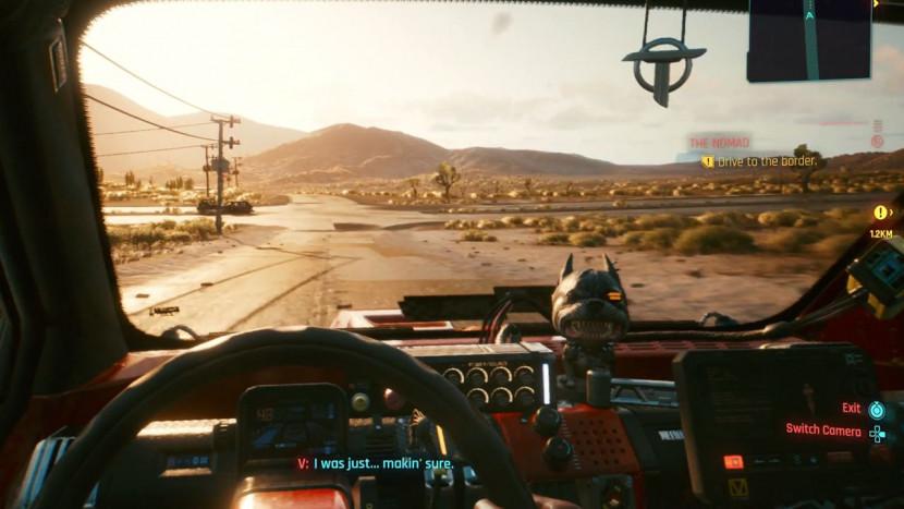 Cyberpunk 2077 toont gameplay op PS4 Pro en PS5