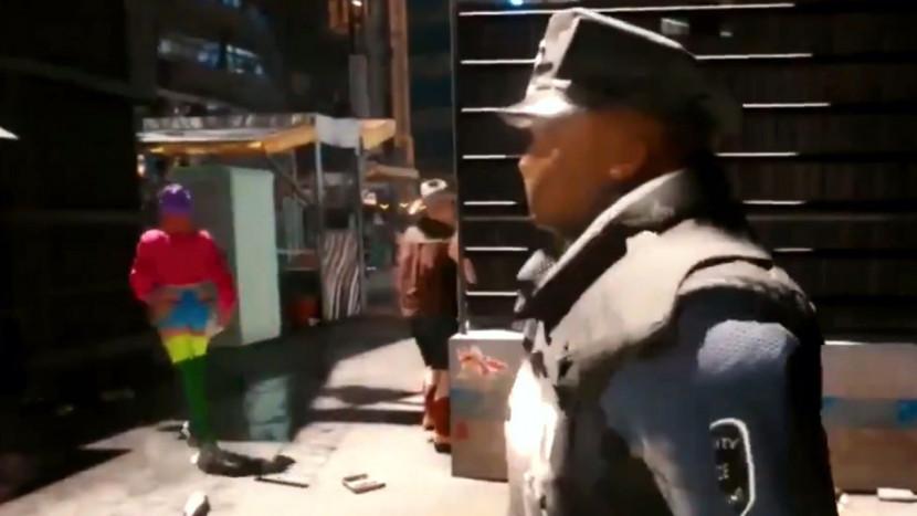Cyberpunk 2077 ziet er soms echt slecht uit op PS4 en Xbox One, maar écht slecht
