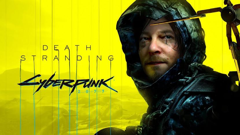 Death Stranding krijgt bezoek van Cyberpunk 2077