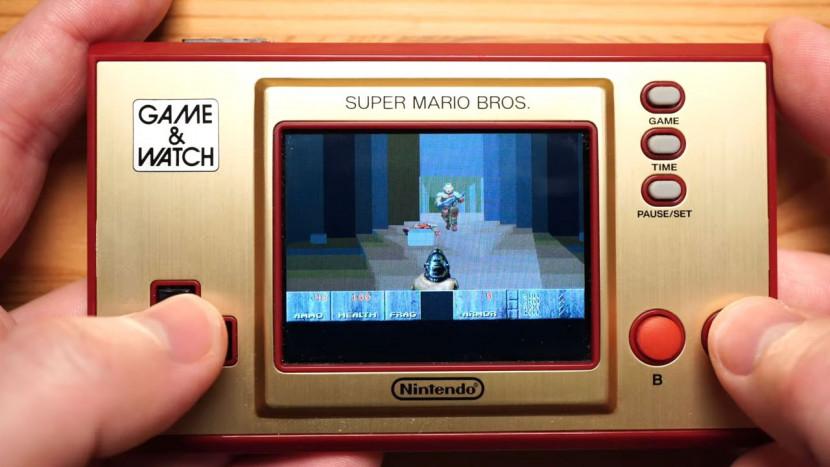Doom is speelbaar op nieuwe Game & Watch van Nintendo