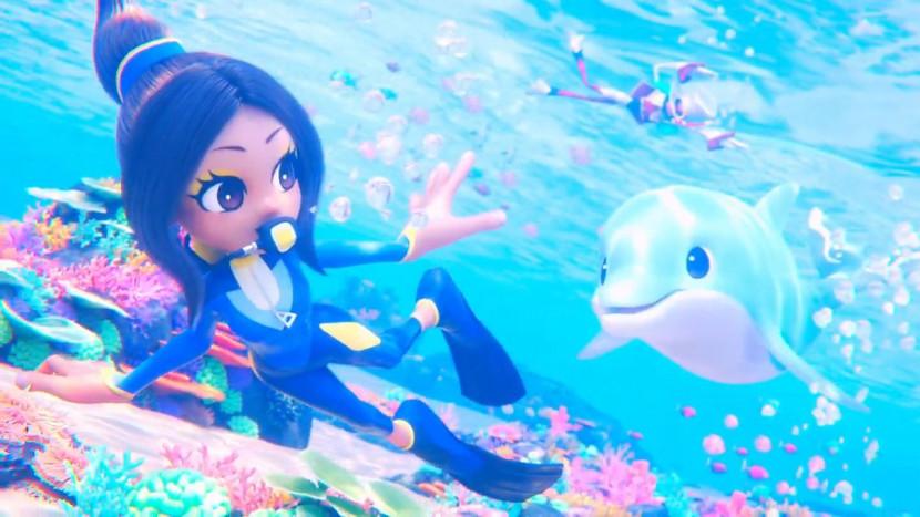 Een dolfijn en een duiker in nieuwe trailer van Balan Wonderworld