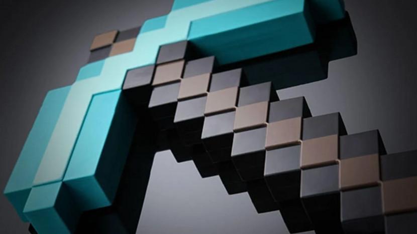 Een échte Diamond Pickaxe van Minecraft zou 5,5 miljard euro kosten
