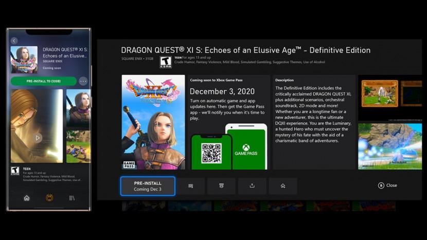 Eerste grote update voor Xbox Series voegt Game Pass pre-loading toe