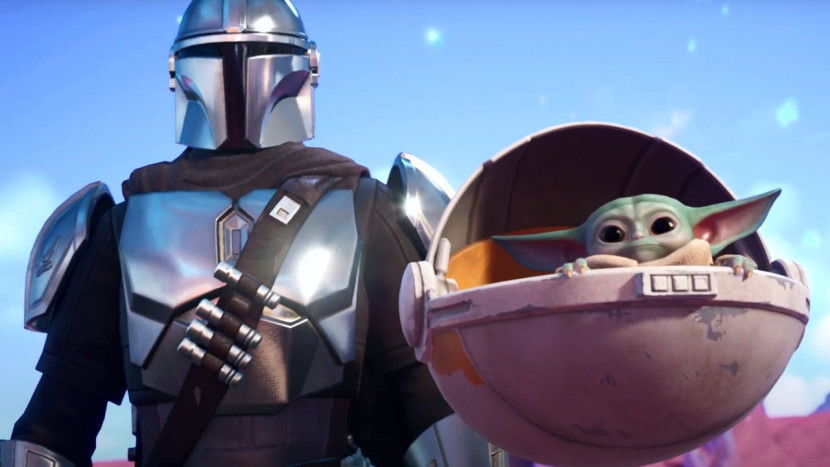 Fortnite verwelkomt de Mandalorian en Baby Yoda