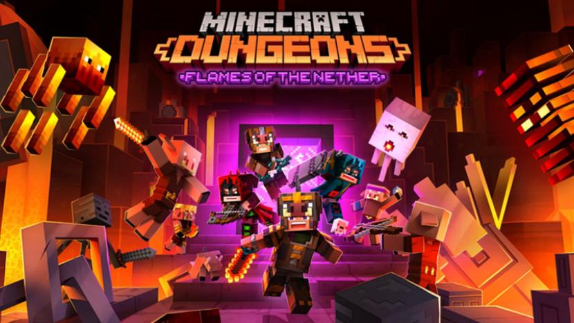 Gratis update en nieuwe DLC voor Minecraft Dungeons
