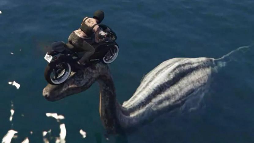 GTA Online: land eens op het hoofd van het monster van Loch Ness