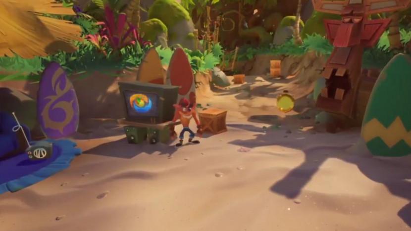 Hint mysterieus logo al naar nieuwe Crash Bandicoot game?
