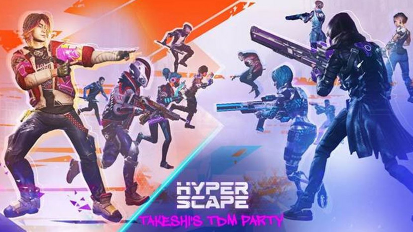 Hyper Scape introduceert cross-play en nieuw in-game event