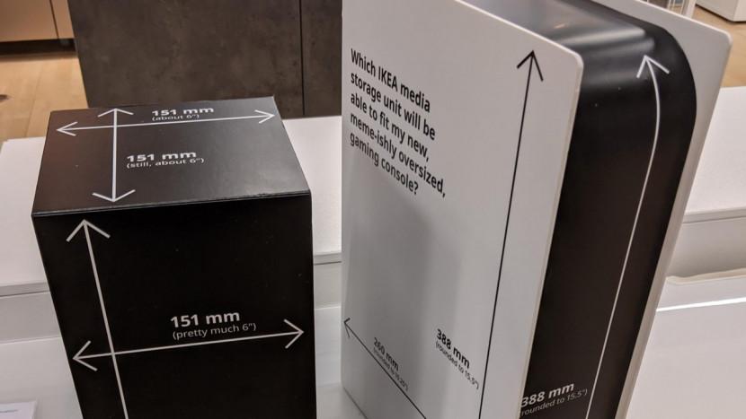 IKEA lacht met grootte van PS5