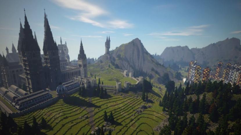 Indrukwekkende mod tovert Minecraft om in een Harry Potter RPG