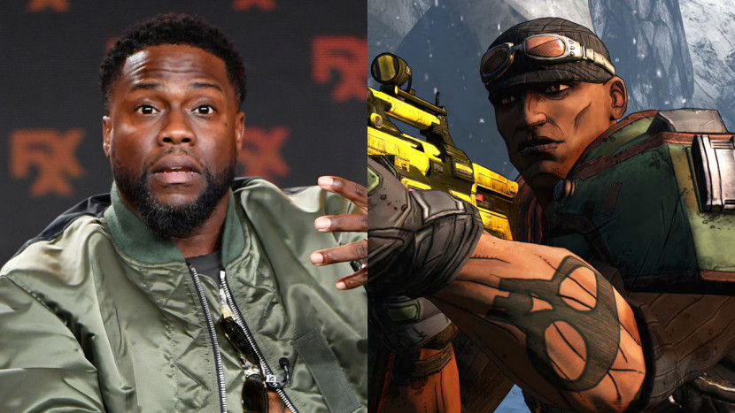 Kevin Hart speelt Roland in Borderlands film
