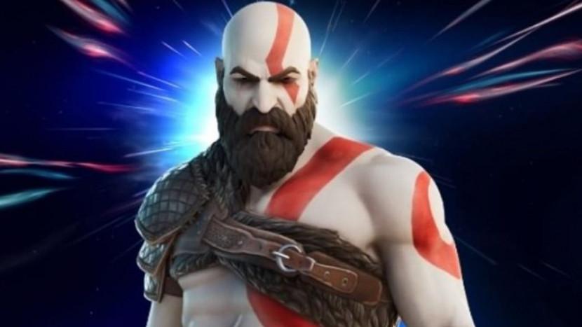 Kratos op weg naar Fortnite