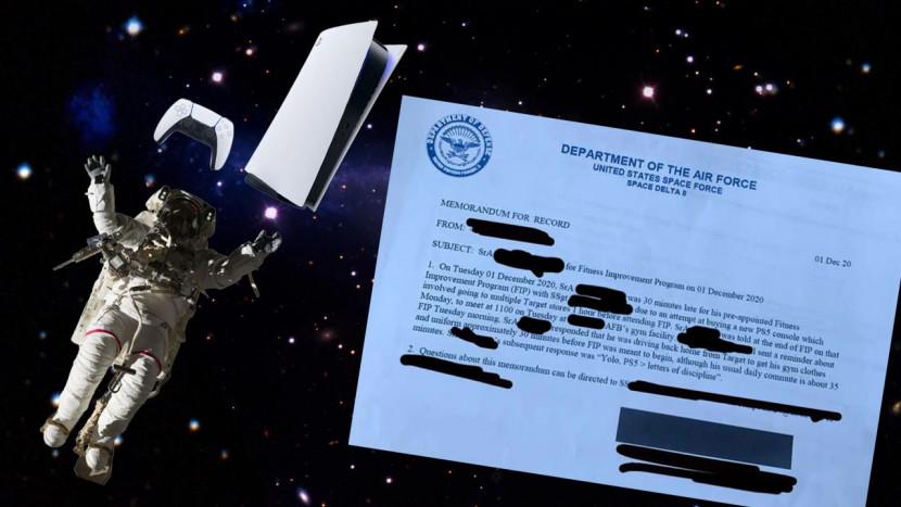 Lid van Amerikaanse Space Force komt te laat omdat hij liever PS5 ging kopen en krijgt sanctie