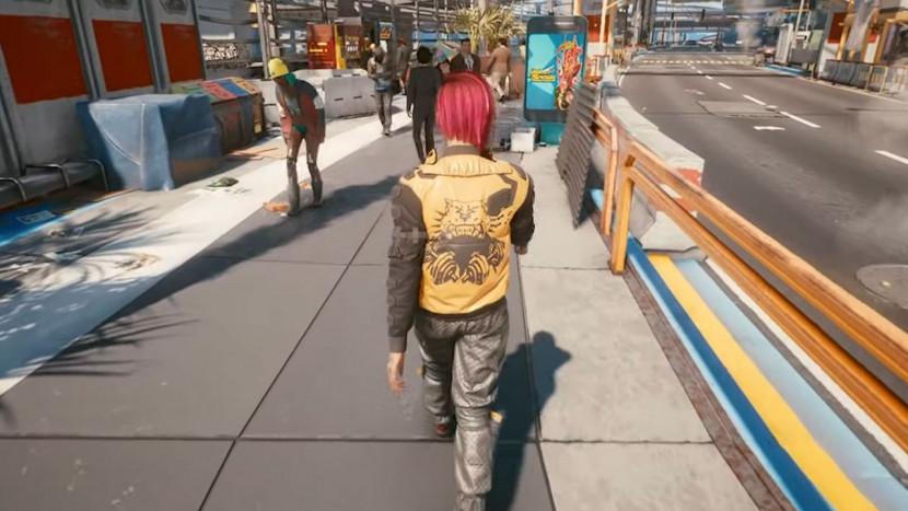 Met deze mod beleef je Cyberpunk 2077 in third-person