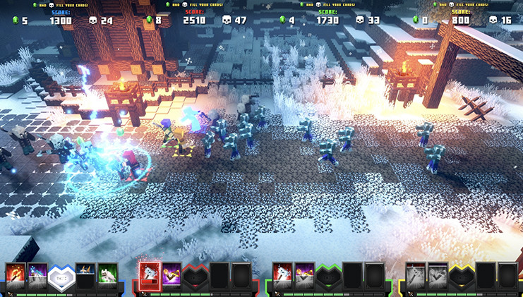 Minecraft Dungeons komt ook naar de arcadehal