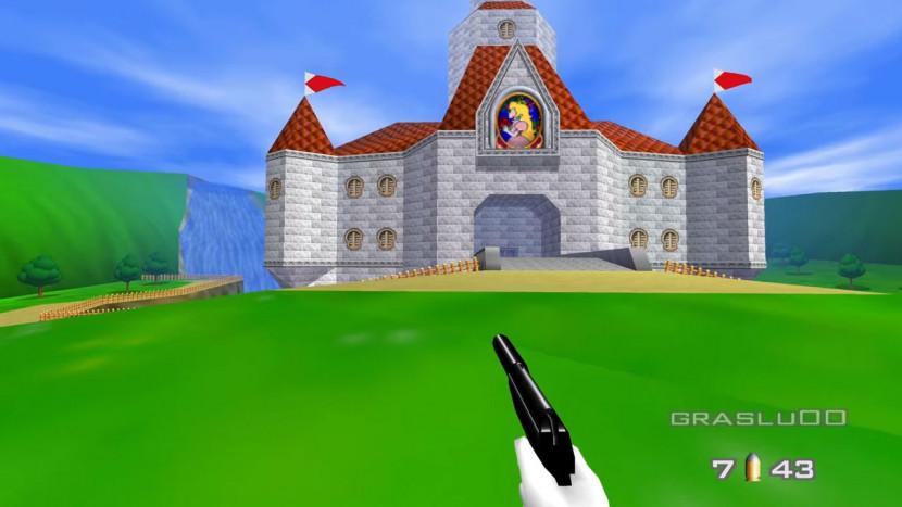 Mod voegt Peach's Castle toe aan GoldenEye
