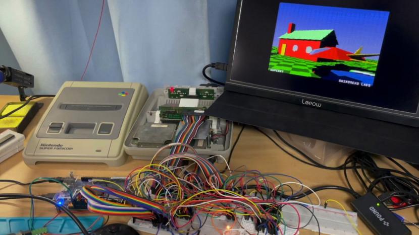 Modder krijgt real-time ray tracing aan de praat op een SNES