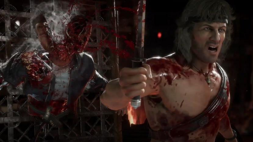 Mortal Kombat 11 Ultimate toont bloederig duel tussen Rambo en Terminator