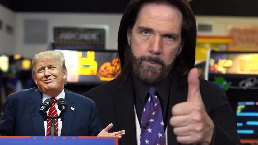 Neen, Donkey Kong kampioen Billy Mitchell krijgt van Trump geen standbeeld in de National Garden of American Heroes