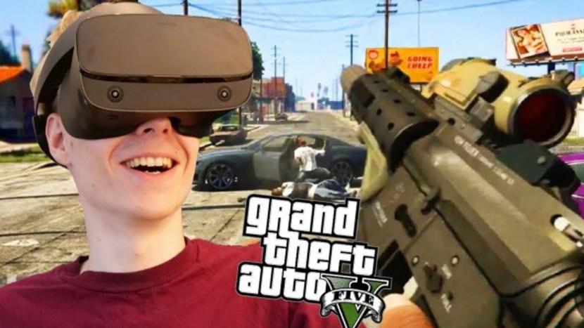 Niet slecht, de nieuwste virtual reality mod voor GTA V