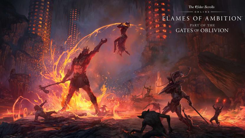 Nieuwe uitbreiding zet The Elder Scrolls Online in vuur en vlam