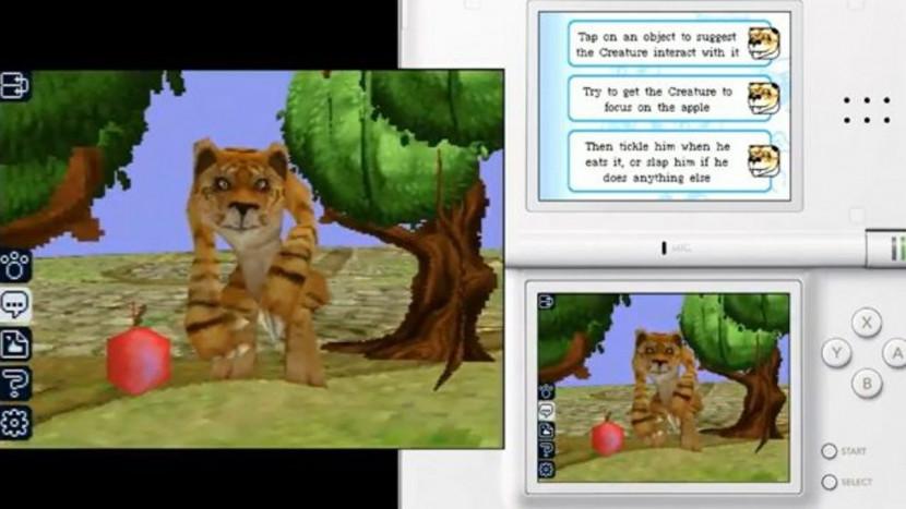 Nooit verschenen Black & White game voor Nintendo DS duikt op