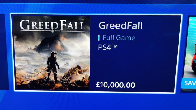 Oeps: games in PlayStation Store kosten plots 10.000 euro