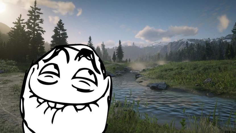 Oeps: nieuwszender denkt dat screenshots van Red Dead Redemption 2 echte natuurfoto's zijn