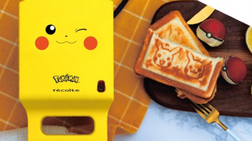 Officiële Pikachu-broodrooster gelanceerd