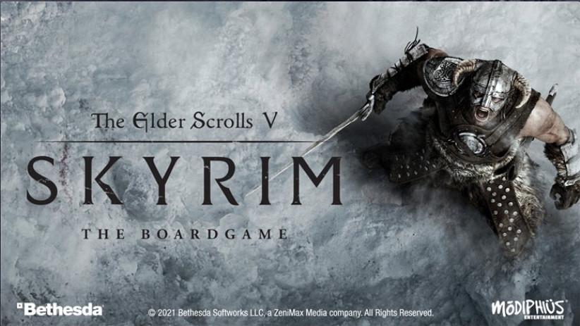 Ook Skyrim krijgt een eigen bordspel