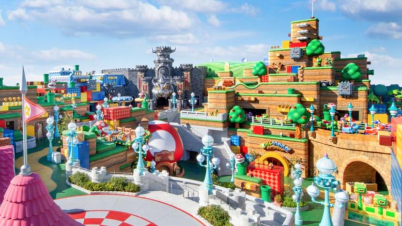 Opening van Super Nintendo World opnieuw uitgesteld