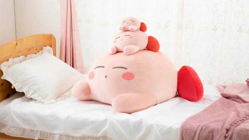 Reusachtige Kirby knuffel: OMG, it's so fluffy!