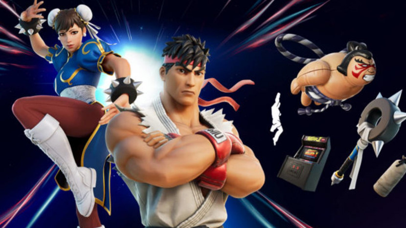 Ryu en Chun-Li nu speelbaar in Fortnite