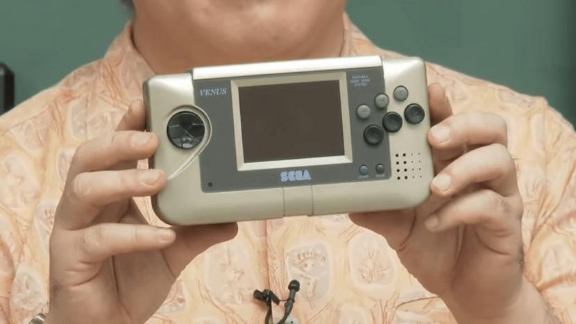 Sega toont voor het eerst prototype van zijn Nomad handheld