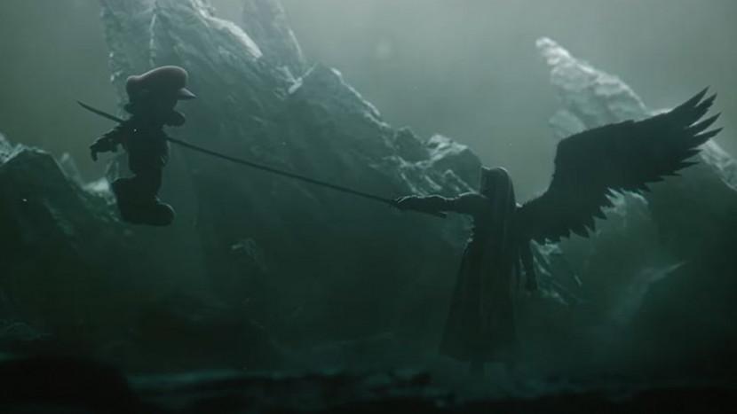 Sephiroth op weg naar Super Smash Bros. Ultimate