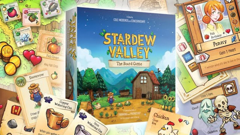 Stardew Valley: The Board Game uit de doeken gedaan