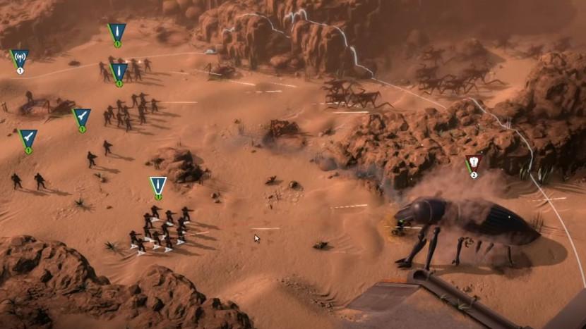 Starship Troopers RTS komt nog eens piepen met wat gameplay