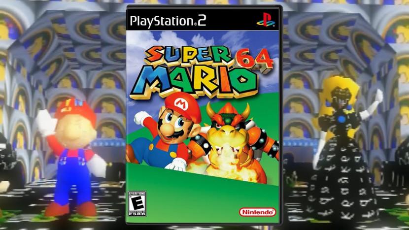 Super Mario 64 aan de praat gekregen op PS2