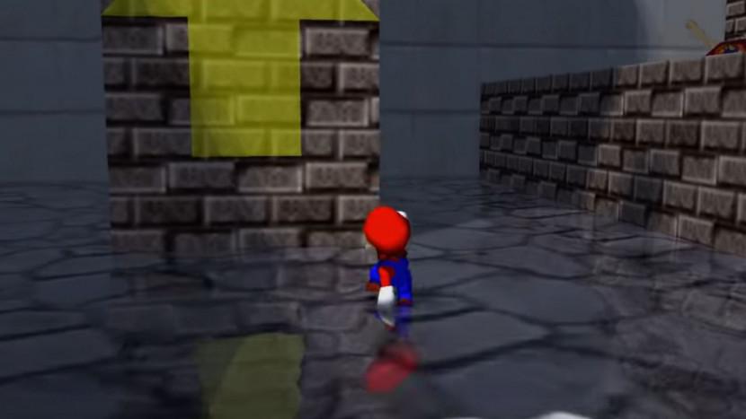 Super Mario 64 voorzien van ray tracing