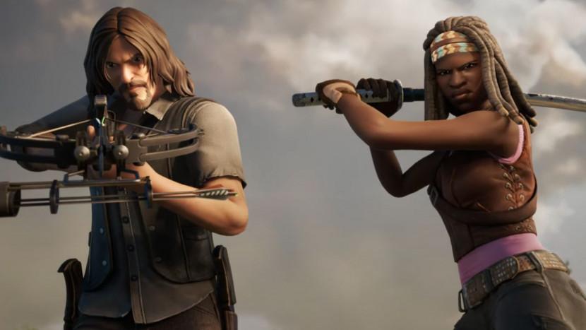 The Walking Dead op weg naar Fortnite