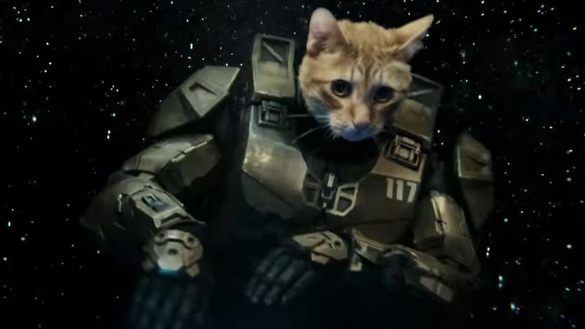 Thor: Ragnarok director maakt Xbox reclamefilmpje waarin Master Chief een DJ-kat blijkt te zijn