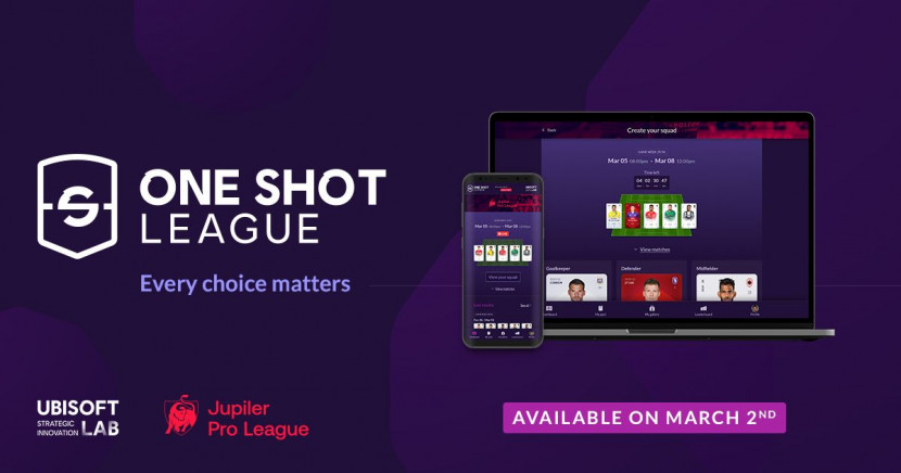 Ubisoft en Jupiler Pro League lanceren block-chain gedreven One Shot League